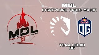 Team Liquid vs OG | MDL Disneyland® Paris Major