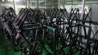 SwiftCarbon - Hand made bicycles (a factory visit)