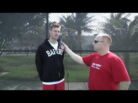 Men's Tennis Marco Mokrzycki interview 2-10-13