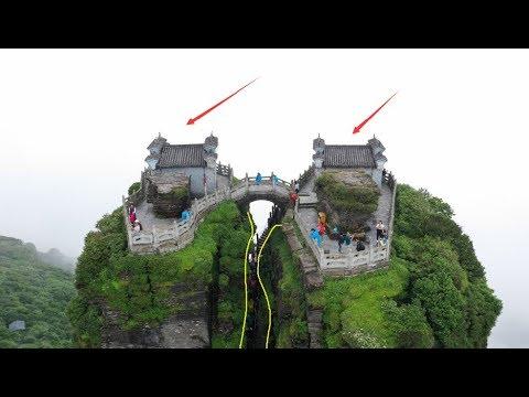 贵州铜仁梵净山红云金顶,被誉为天空之城,真是人间仙境