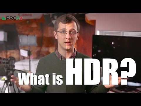 What is HDR Video?