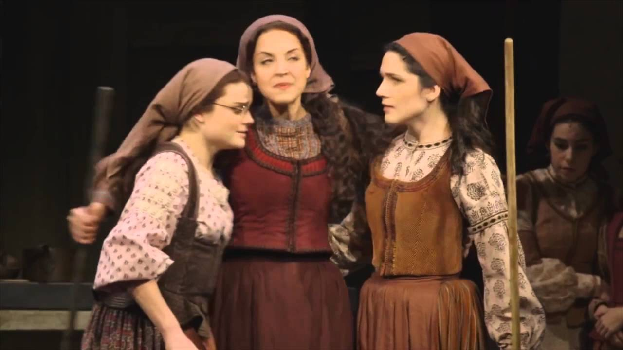 Backstage Videos By Ferran Guiu: FIDDLER ON THE ROOF On Broadway