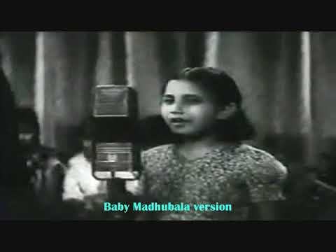 हमको है प्यारी हमारी गलियां..Parul Ghosh_Baby Mumtaz_P L Santoshi_Pannalal Ghosh..a tribute