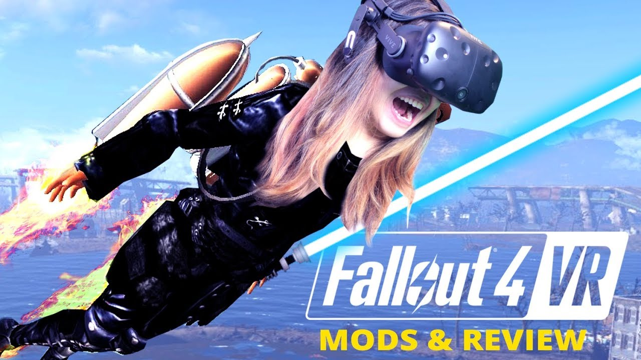 3 CRAZY FUN MODS FOR FALLOUT 4 VR! | Fallout 4 VR Review & Mods Gameplay  (HTC Vive) #3