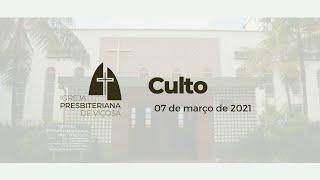 Culto Online IPV (07/03/2021)