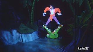 [4K] Disneyland Paris Peter Pan Ride - Peter Pan's Flight
