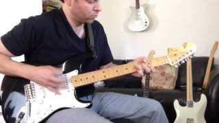 Little Wing INTROS - Jimi Hendrix version 97 Voodoo Strat