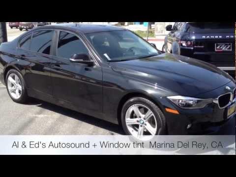 2013 Bmw 328i Window Tint Beverly Hills Ca Youtube