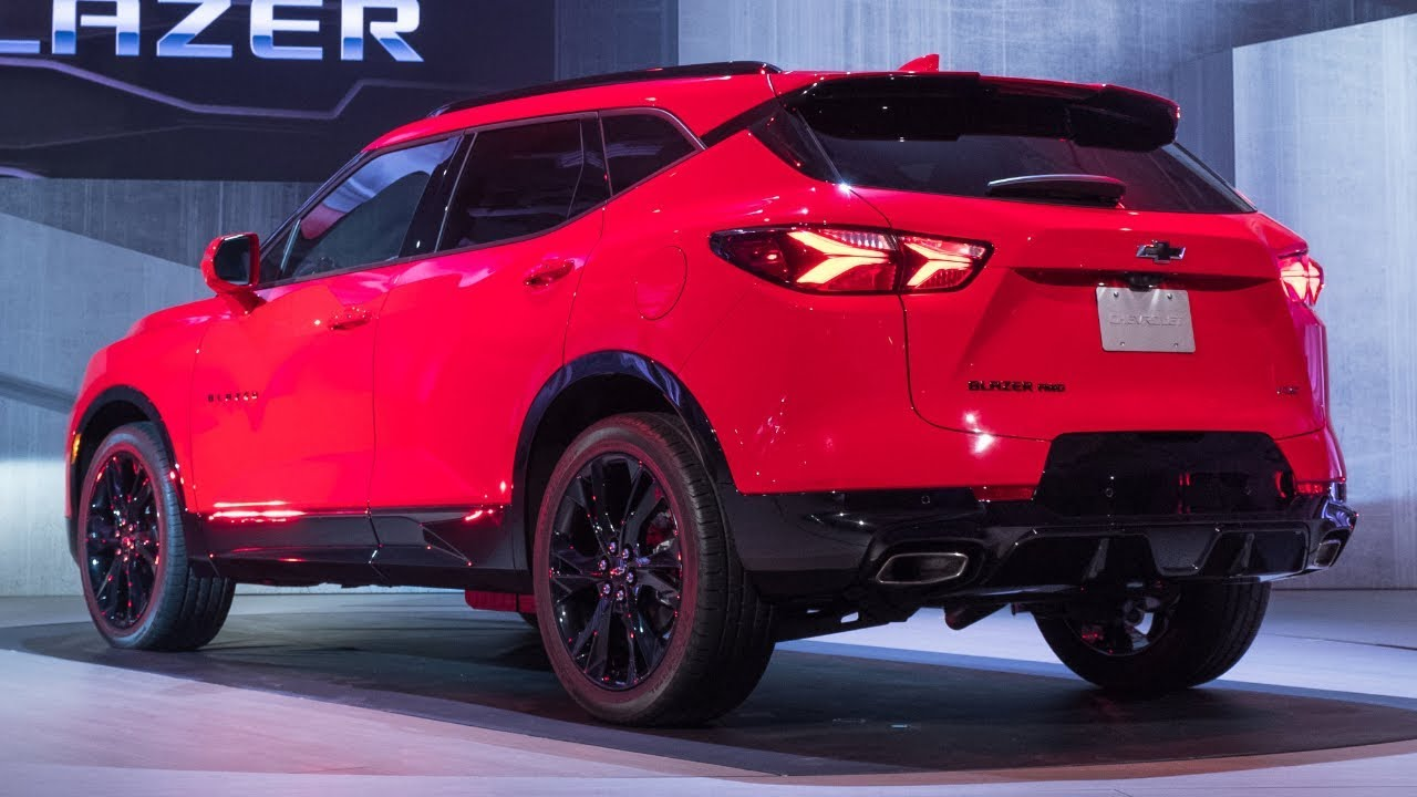 2019 Chevy Blazer Rs Unveiled Details Specs Interior Exterior Review