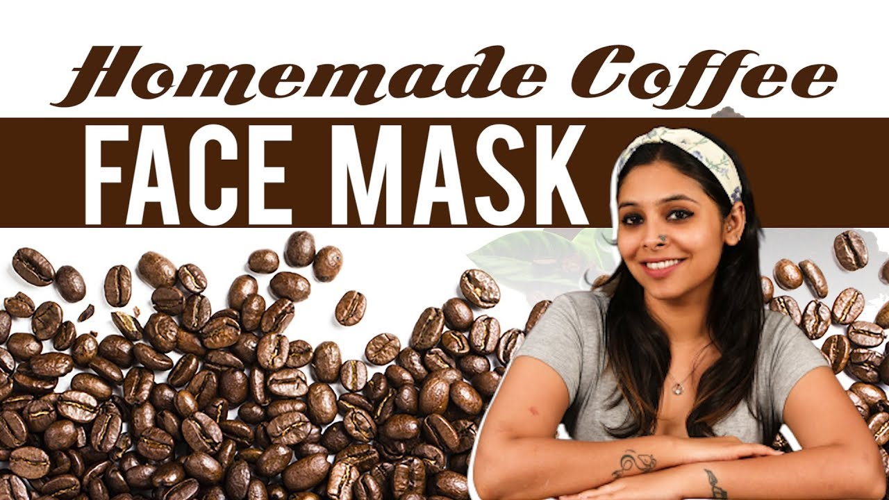 Diy Coffee Face Mask For Glowing Skin Youtube