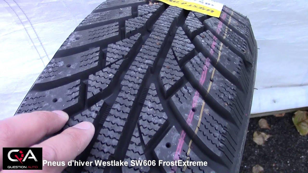 pneus d 39 hiver westlake sw606 frostextreme est ce vraiment bon sur la glace et la neige youtube. Black Bedroom Furniture Sets. Home Design Ideas