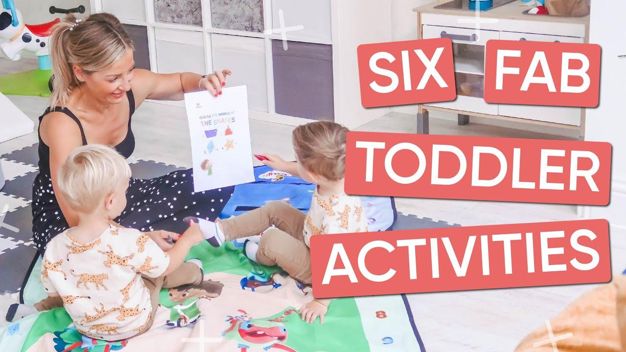 Ad | 6 Fun Toddler Activities