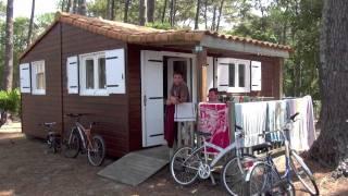 camping les Oyats à Seignosse (videosdrones.com)