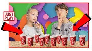 Не выбери НЕПРАВИЛЬНУЮ КОКА-КОЛУ СЛАЙМ Челлендж // Don't choose the wrong Cola challenge