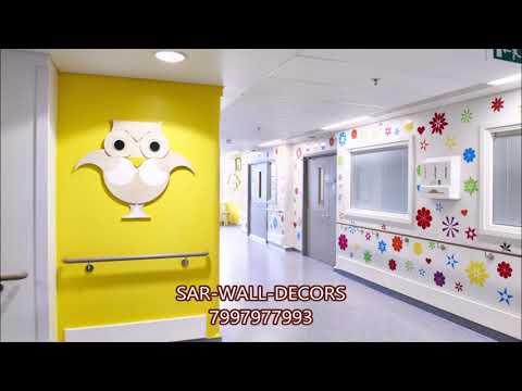 Childerb's  hospital  cartoon  art wall  painting   7997977993
