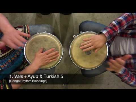 1 Vals + Ayub & Turkish 5 Conga Rhythm Blendings