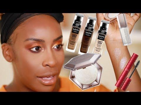 GRWM - Makeup + Meeting My Subscriber!!! | Jackie Aina
