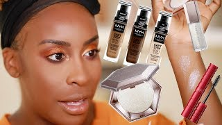 GRWM - Makeup + Meeting My Subscriber!!! | Jackie Aina