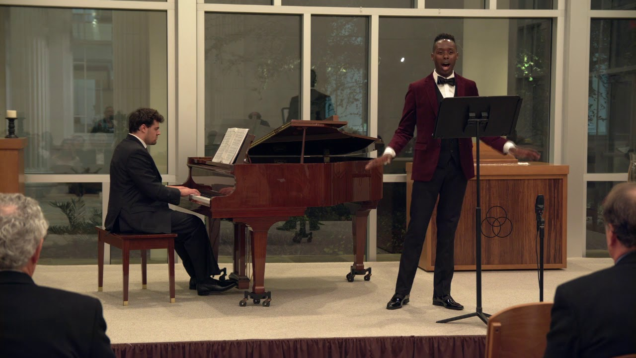 Donovan Black (tenor), Alec Lerner (piano) - I Couldn't Hear Nobody Pray  arr. by Robert Williams