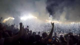Funny Video: Fail Fireworks Show Results In Hot Embers Melting The Crowd