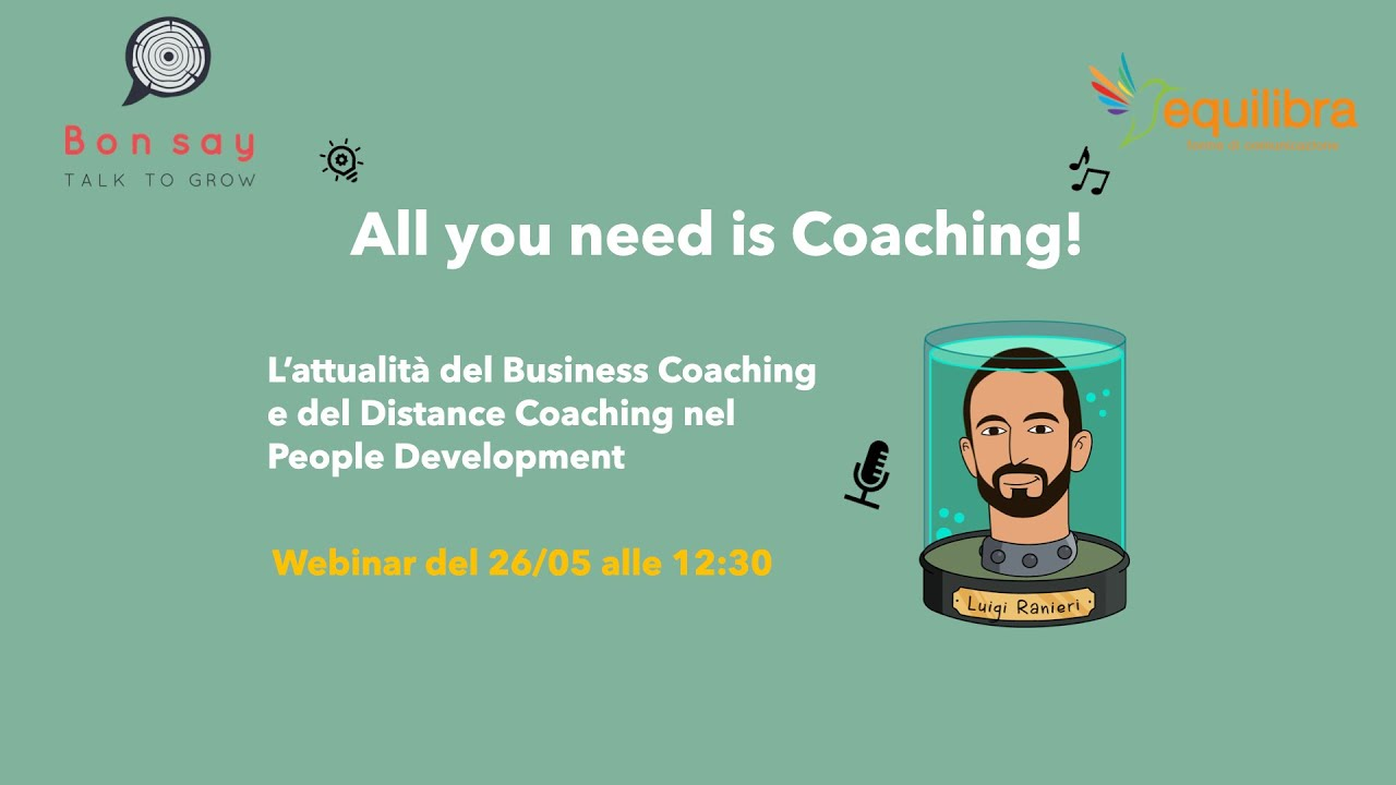 L'attualità del Business Coaching e del Distance Coaching nel People Development