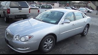 2009 BUICK LaCrosse Review Start Up Engine