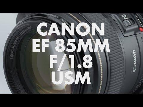 Lens Data - Canon EF 85mm f/1.8 USM Review
