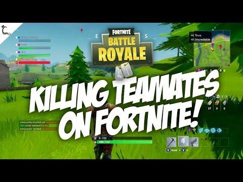 kill Teammate in Fortnite / Fortnite / Tamil