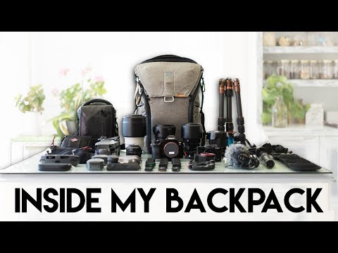 MOST EFFICIENT TRAVEL CAMERA SET-UP FOR VIDEO | WHAT'S IN MY BACKPACK