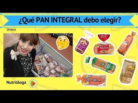 ¿Qué pan debo elegir? ¿Qué hay en los panes integrales? (Modificado)