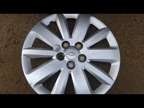 Замена декорболта-заглушки на колпаке Chevrolet