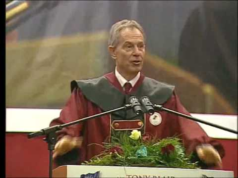 Tony Blair - Doctor Honoris Causa of the University of Prishtina