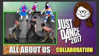 Скачать Just Dance 2017 All About Us Jordan Fisher Collab W AngelJustDancer