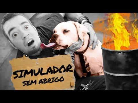 VAMOS MORRER NAS RUAS!!! | SIMULADOR DE SEM-ABRIGO?! (De Pobre a MILIONÁRIO) (NOVO)