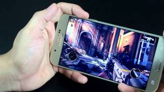 Samsung Galaxy A8 Duos Gaming Performance