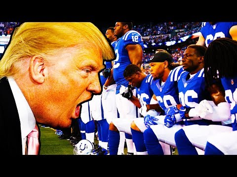 Trump Goes To WAR With NFL
