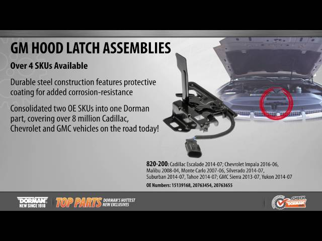Dorman 820-200 Hood Latch Assembly