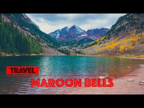 I fly my drone over Maroon Bells in Colorado