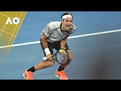 Roger Federer's amazing reaction | Australian Open 2017