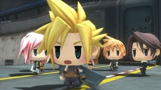 World of Final Fantasy All Cutscenes (Game Movie) 1080p HD