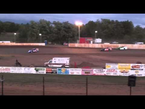 Cory Mahder - September 1st, 2013 - 1st Place - Dash - Labor Day Inviational - Rice Lake Speedway