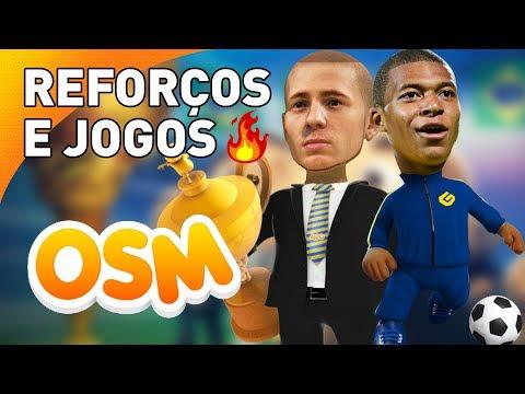 JOGANDO VS. SHERBY, MUUH, PULGA E DEDECO | Campeonato BR de YouTubers (OSM - Online Soccer Manager)