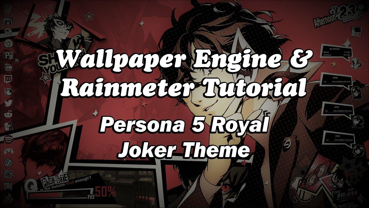 How to recreate my Persona 5 Royal Joker theme - Wallpaper ...