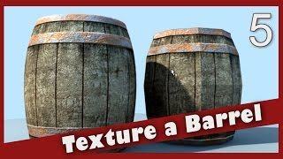 Texture a Barrel in Maya: Lighting