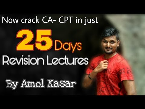How to Crack CA-CPT Exam in 25 Days#Motivational#CA-CPT June-18 study plan#don't miss last 5 min.
