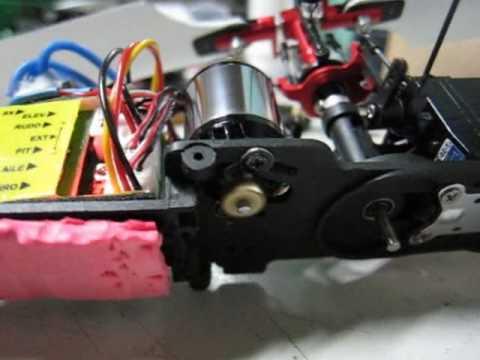 HP08 Outrunner Brushless Motor Balance