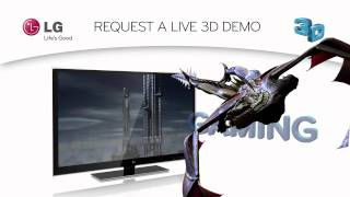 LG 3D TV Demo - Call To Action