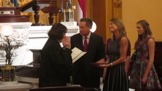 John Kasich sworn in for new term as Ohio governor