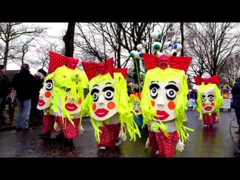 Carnavalsoptocht Ter-apel 2017 van de Carnavalsvereniging De Kloosterwiekers.