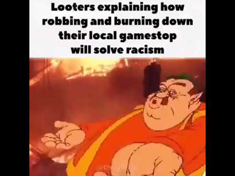 Gamestop Looting Meme